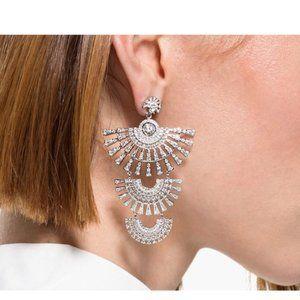 Swarovski SPARKLING DANCE fan earrings